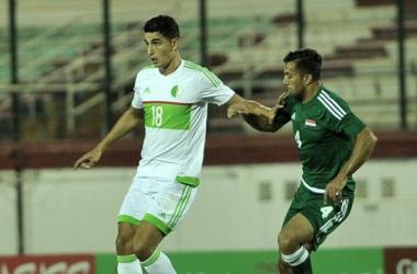 Rachid se lesiona y Argelia cae ante Argentina