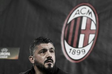 Gattuso poupou alguns jogadores titulares na vitória por 1 a 0 sobre o Ludogorets (Foto: Divulgação/AC Milan)