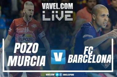 Resumen del ElPozo Murcia 3-1 Barcelona en LNFS