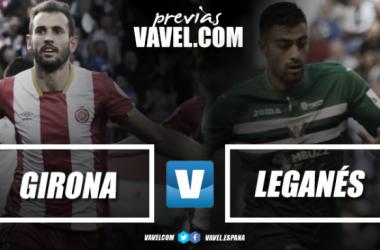 Previa Girona FC - Leganés: duelo de humildes