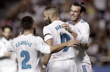 Benzema y Bale. Imagen: La Liga