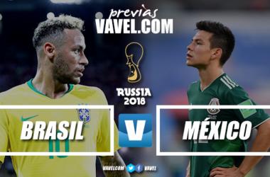 Previa Brasil-México: la hegemonía contra la maldición