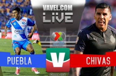 Resultado y goles del Puebla 2-0 Chivas de la Liga MX 2018