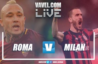 Resumen Roma 0-2 Milan en Serie A 2018