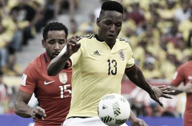 Yerry Mina, nuevo jugador del Everton