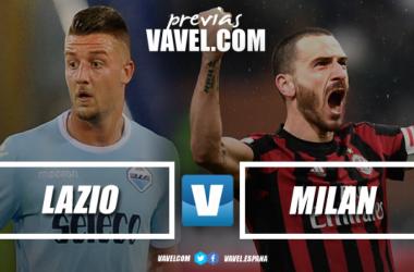 Previa Lazio - Milan: la final de la Coppa, el objetivo