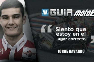 Guía VAVEL Moto2 2018: Jorge Navarro, rumbo al segundo curso.   Fotomontaje: Rocío Hellín