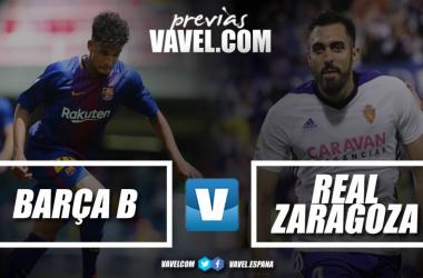 Previa FC Barcelona B-Real Zaragoza. Foto: VAVEL