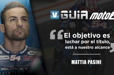 Guía VAVEL Moto2 2018: Mattia Pasini, querer es poder.   FOTOMONTAJE: Rocío Hellín