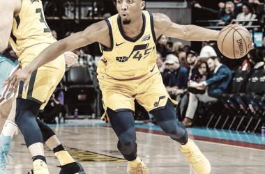 La figura del partido, Donovan Mitchell de Utah Jazz