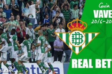 Real Betis Balompié 2016/17: Volver a jugar en Europa