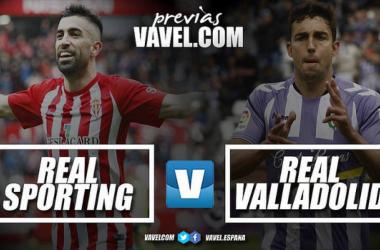 Previa Sporting de Gijón - Real Valladolid: Gijón dictará sentencia