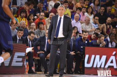 """Svetislav Pesic: """"En el Barça solo cuentan los títulos, estamos en el proceso"""""""