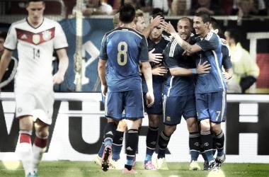 Así fue el último choque entre Argentina y Alemania