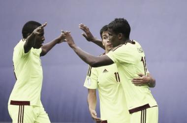 Sergio Cordova ha sido uno de los pilares fundamentales en el ataque criollo/ www.fifa.com