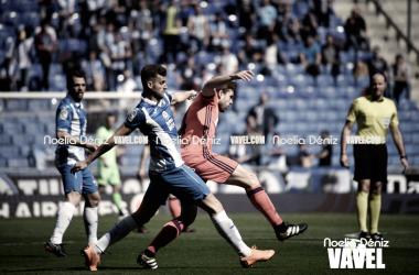 """Héctor Moreno: """"El Espanyol ha sido justo vencedor"""""""