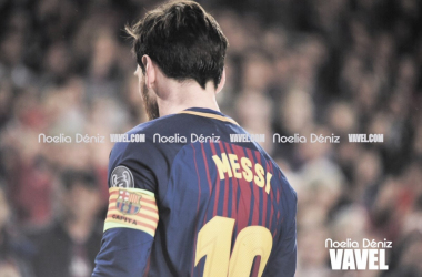 Messi decidió la eliminatoria para el Barça.   Fotografía: Noelia Déniz (VAVEL.com)