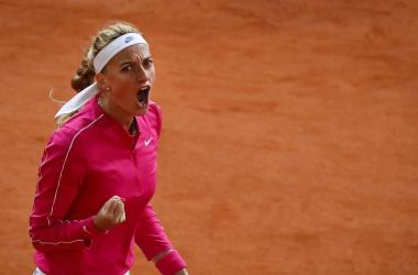 French Open: Petra Kvitova overpowers Zhang Shuai