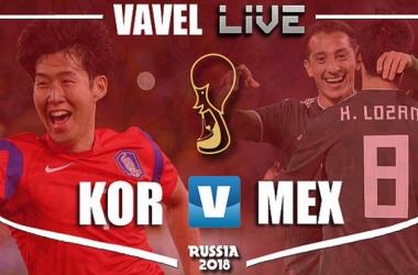 Resultado Coreia do Sul x México na Copa do Mundo 2018 (1-2)