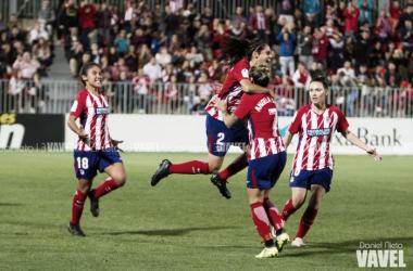 El Atleti Femenino hace grande un empate frente al Barcelona