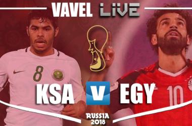Resultado e gols de Arábia Saudita X Egito pela Copa do Mundo 2018 (2-1)