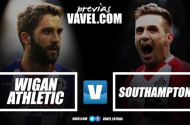 Previa Wigan - Southampton: la ilusión ante la renovación