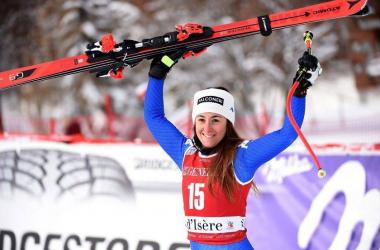 Sci Alpino - Continua a splendere Goggia, trionfo nel super-g di Are. Coppa a Weirather