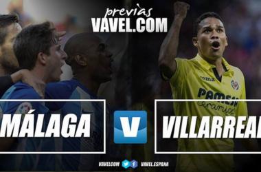 Previa Málaga CF - Villarreal: al menos, dar buena imagen