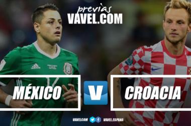 Previa México - Croacia: último duelo de fecha FIFA para aztecas y balcánicos previo a Rusia 2018