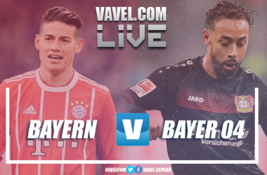 Resumen Bayern Múnich 3-1 Bayer Leverkusen en Bundesliga