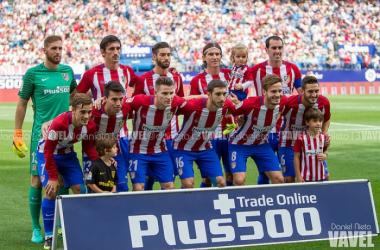 Atlético de Madrid - Sporting de Gijón, puntuaciones del Atlético, jornada 4