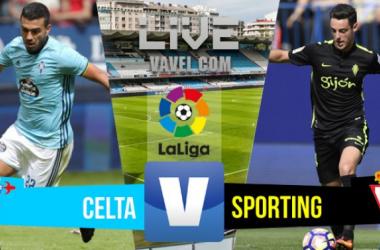 Resultado Celta de Vigo vs Sporting de Gijón en Liga 2016 (2-1)