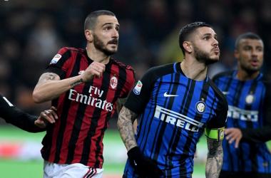 "Bonucci ed Icardi, capitani a confront | Facebook, pagina ufficiale ""Inter"""