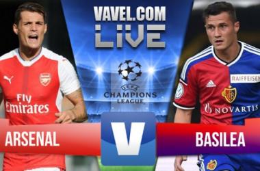 Live coverage of Arsenal v FC Basel | Photo: VAVEL