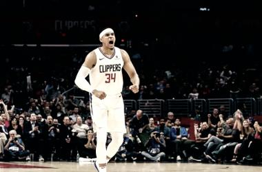 La figura del partido, Tobías Harris de Los Ángeles Clippers