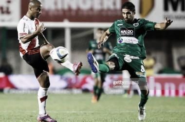 Sarmiento vs River. Campeonato 2015