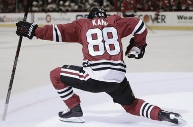 Kane alcanza los 400 goles en la NHL (nhl.com)