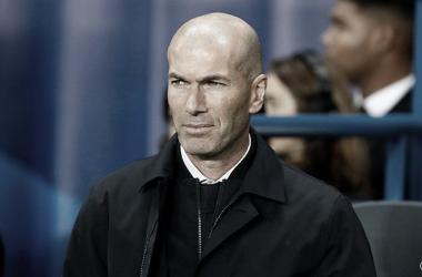 Zidane con rostro compungido/ Foto: Real Madrid C.F