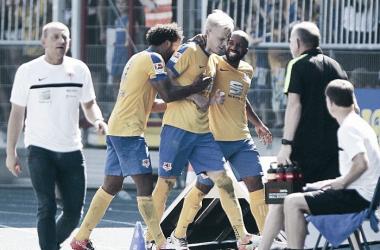 Eintracht Braunschweig 6-1 1. FC Nürnberg: Die Löwen demolish Der Club in brilliant second half display