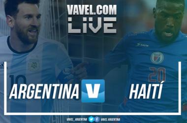 Resumen Argentina 4-0 Haití en amistoso internacional rumbo a Rusia 2018