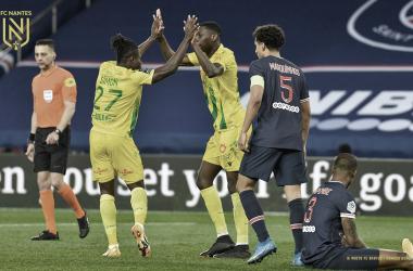 PSG sofre virada do Nantes e perde chance de retomar liderança na Ligue 1