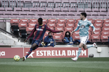 Dembélé en el Barça-Celta | Foto: FC Barcelona