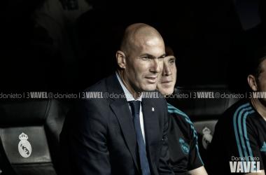 """Zinedine Zidane:""""Hemos sacado lo mejor de nosotros, son tres puntos muy importantes"""""""