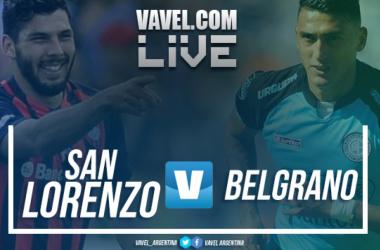 Resumen San Lorenzo 2-0 Belgrano en Superliga Argentina 2018