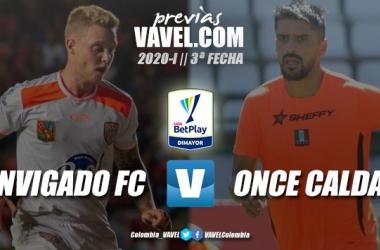 Previa Envigado F.C. vs. Once Caldas: ambos equipos buscan mantener el invicto