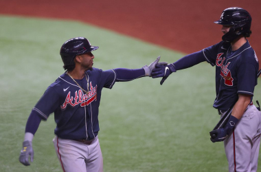 National League Championship Series: Braves hold off late Dodgers rally to take Game 2