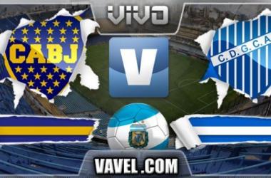 Resultado Boca Juniors - Godoy Cruz 2014 (3-0)