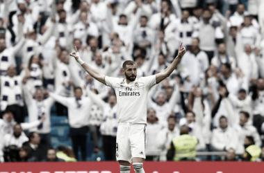 Karim Benzema es el nuevo amor del Santiago Bernabéu