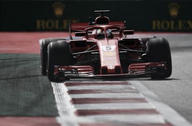 Vettel en la FP1 | Foto: Sport