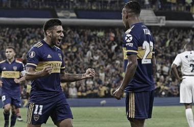 Los números que dejó el partido entre Boca Juniors e Independiente Medellín